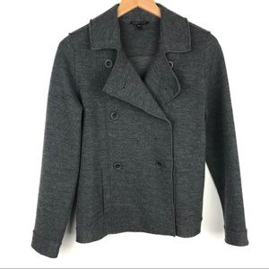Eileen Fisher Merino Wool double breasted jacket